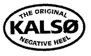 THE ORIGINAL KALSO NEGATIVE HEEL