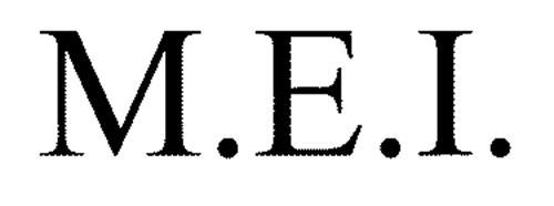 M.E.I.
