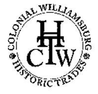 CWHT COLONIAL WILLIAMSBURG HISTORIC TRADES