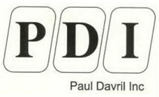 PDI PAUL DAVRIL INC
