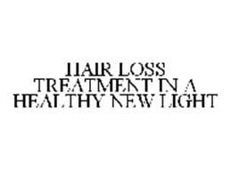 HAIR LOSS TREATMENT IN A HEALTHY NEW LIGHT