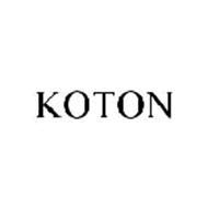 Koton Trademark Of Koton Corporation Serial Number 78327359