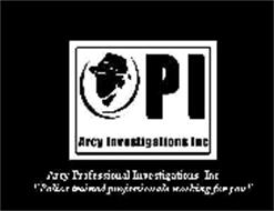 PI ARCY INVESTIGATIONS, INC ARCY PROFESSIONAL INVESTIGATIONS, INC