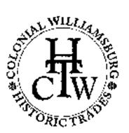 COLONIAL WILLIAMSBURG HISTORIC TRADES CWHT