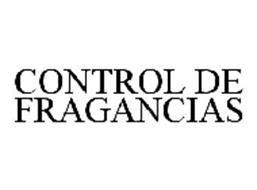 CONTROL DE FRAGANCIAS