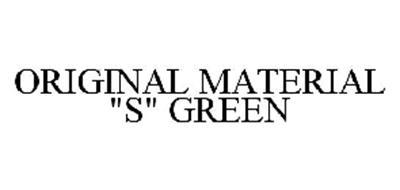 ORIGINAL MATERIAL