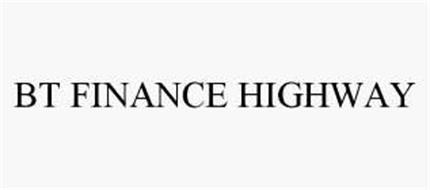 BT FINANCE HIGHWAY