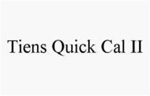 TIENS QUICK CAL II