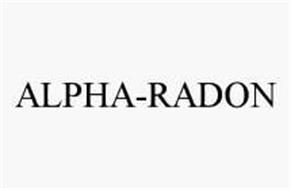 ALPHA-RADON