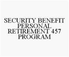 SECURITY BENEFIT PERSONAL RETIREMENT 457 PROGRAM