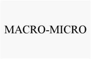 MACRO-MICRO