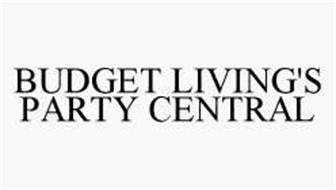 BUDGET LIVING'S PARTY CENTRAL