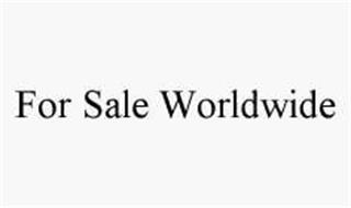 FOR SALE WORLDWIDE