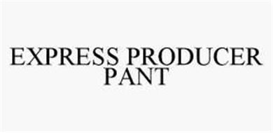 EXPRESS PRODUCER PANT