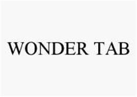 WONDER TAB