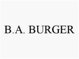B.A. BURGER