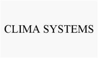 CLIMA SYSTEMS