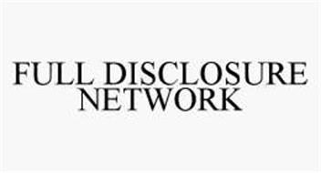 FULL DISCLOSURE NETWORK