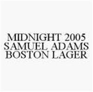 MIDNIGHT 2005 SAMUEL ADAMS BOSTON LAGER