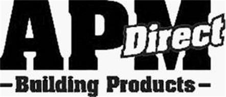 APM DIRECT BUILDING PRODUCTS