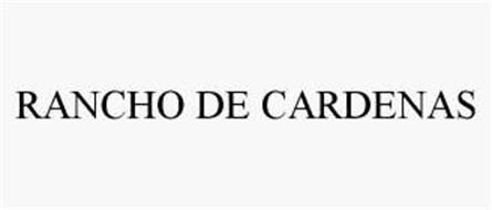 RANCHO DE CARDENAS