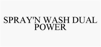 SPRAY'N WASH DUAL POWER