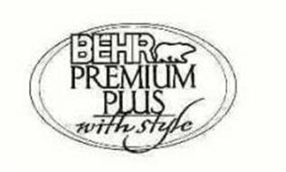BEHR PREMIUM PLUS WITH STYLE
