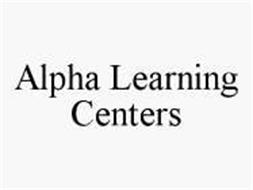 ALPHA LEARNING CENTERS
