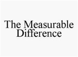 THE MEASURABLE DIFFERENCE