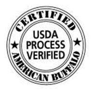 CERTIFIED AMERICAN BUFFALO USDA PROCESS VERIFIED