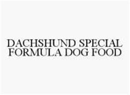 DACHSHUND SPECIAL FORMULA DOG FOOD