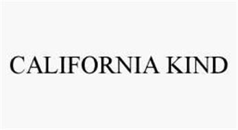 CALIFORNIA KIND