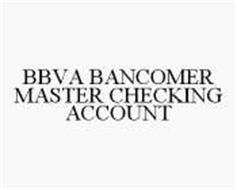 BBVA BANCOMER MASTER CHECKING ACCOUNT