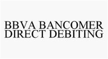 BBVA BANCOMER DIRECT DEBITING