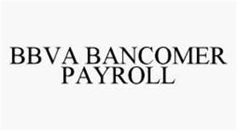 BBVA BANCOMER PAYROLL