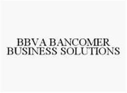 BBVA BANCOMER BUSINESS SOLUTIONS