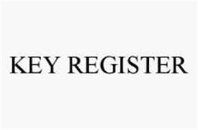 KEY REGISTER