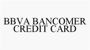 BBVA BANCOMER CREDIT CARD