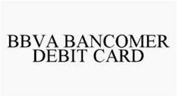 BBVA BANCOMER DEBIT CARD