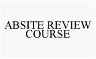 ABSITE REVIEW COURSE