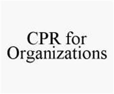 CPR FOR ORGANIZATIONS