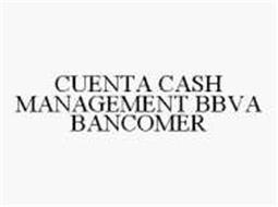 CUENTA CASH MANAGEMENT BBVA BANCOMER