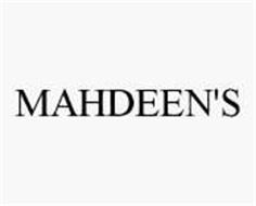 MAHDEEN'S