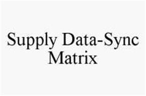 SUPPLY DATA-SYNC MATRIX