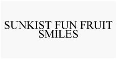 SUNKIST FUN FRUIT SMILES