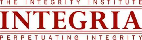 THE INTEGRITY INSTITUTE INTEGRIA PERPETUATING INTEGRITY