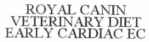 ROYAL CANIN VETERINARY DIET EARLY CARDIAC EC