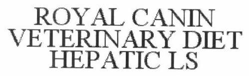 ROYAL CANIN VETERINARY DIET HEPATIC LS