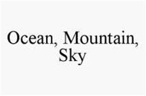 OCEAN, MOUNTAIN, SKY
