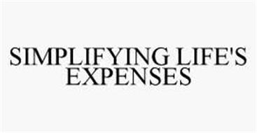 SIMPLIFYING LIFE'S EXPENSES